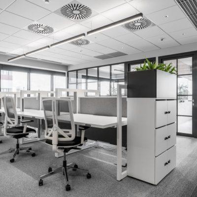 Standup hoogte instelbare werkplek