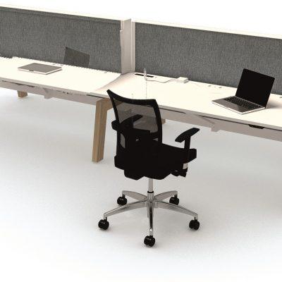markant-max-hybrid-bench-bureau-4-werkplekken